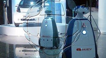 Рекламный робот на продажу. Цена и стоимость рекламного робота